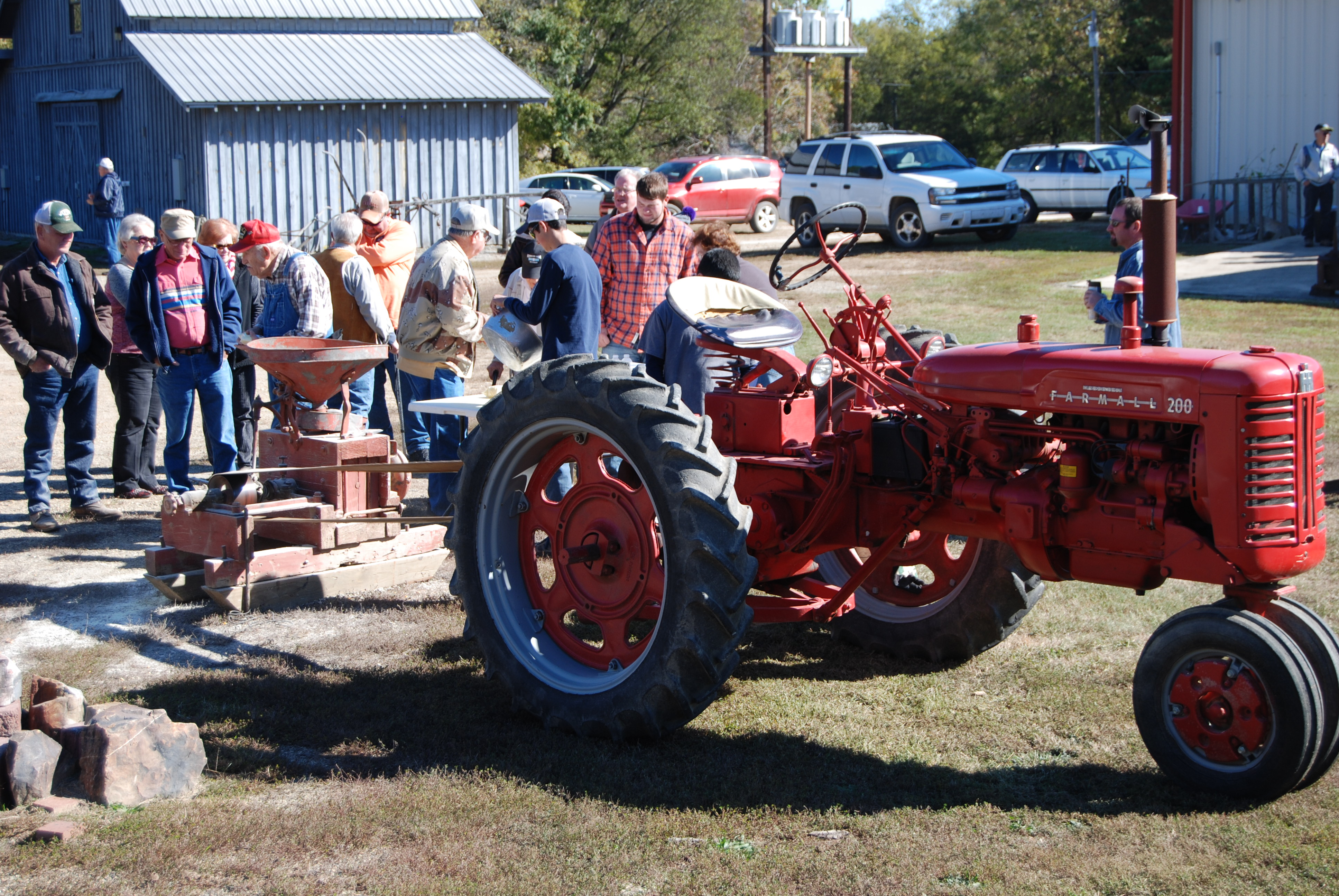 A real tractor (Stanley)