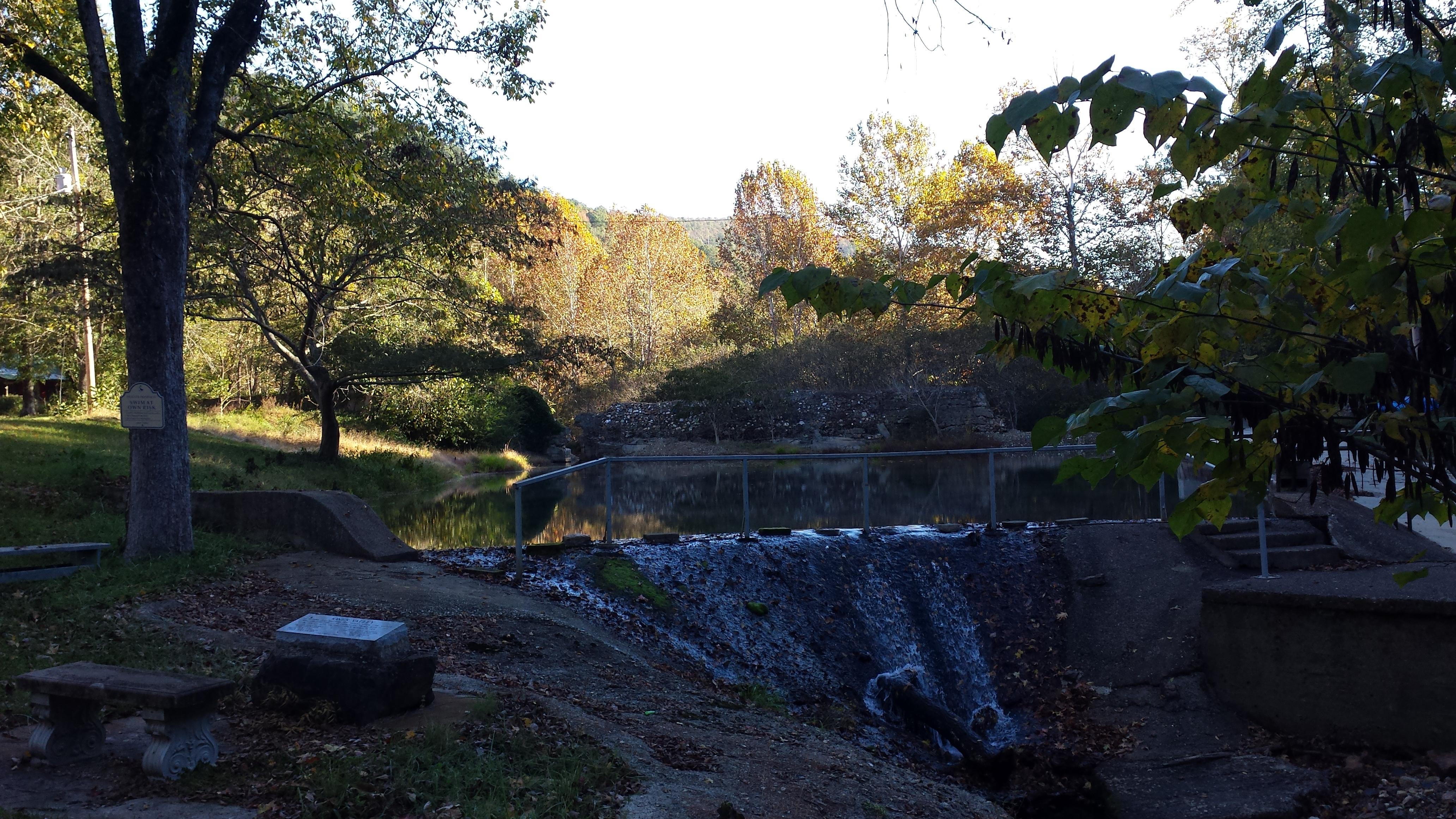 Jones Valley fall morning