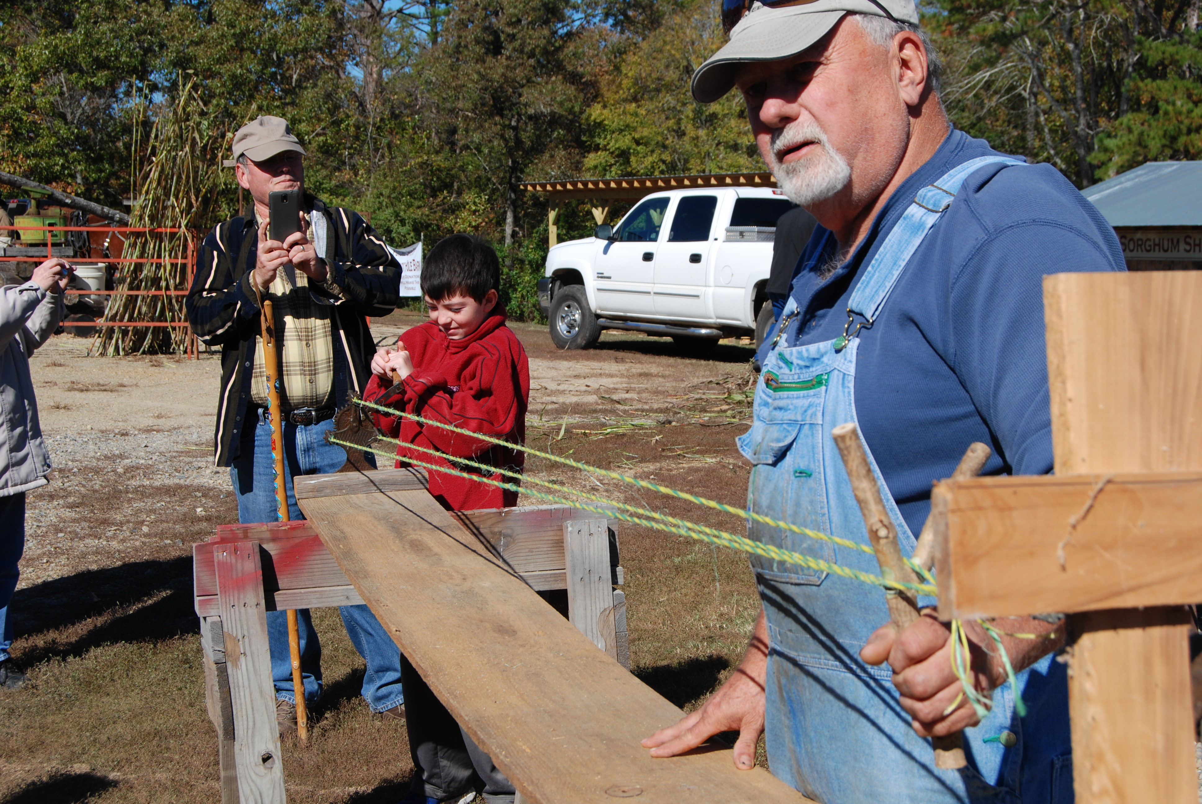 Making rope